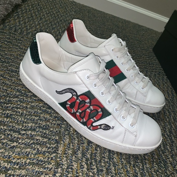exquisite style new concept buy sale Gucci Shoes | Authentic Mens Ace Embroidered Sneaker | Poshmark